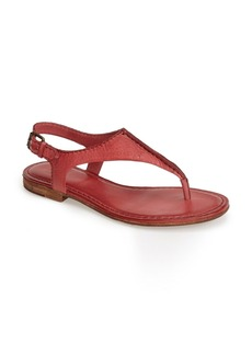 Frye 'Carson Seam' Leather Thong Sandal (Women)