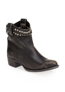 Frye 'Diana' Cut & Studded Leather Short Boot (Women) (Regular Retail Price: $397.95)