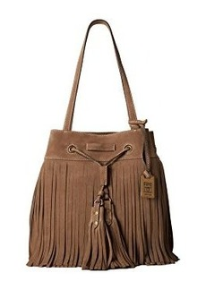 Frye Heidi Fringe Bucket Shoulder Bag