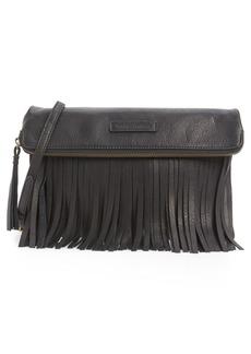 Frye 'Heidi' Fringed Leather Crossbody Bag