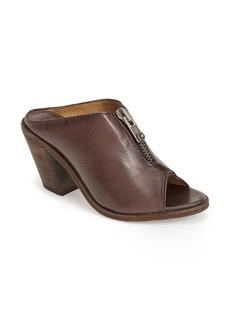 Frye 'Izzy' Peep Toe Leather Mule (Women)