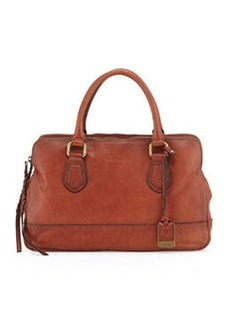Frye Jamie Leather Satchel Bag, Whiskey