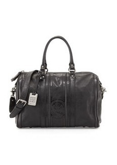 Frye Jane Leather Duffel Bag, Black