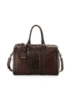Frye Jane Leather Duffel Bag, Dark Brown