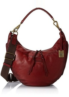 FRYE Jenny Soft Vintage Leather Hobo Handbag