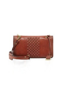 Frye Jesse Stud-Detail Crossbody Bag, Whiskey