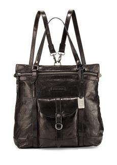 Frye Josie Leather Backpack Tote Bag