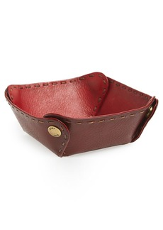 Frye Leather Jewelry Catchall Tray