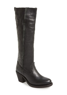 Frye 'Leslie' Raw Edge Leather Tall Boot (Women)