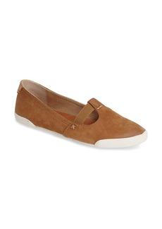 Frye 'Melanie' T-Strap Leather Flat (Women)