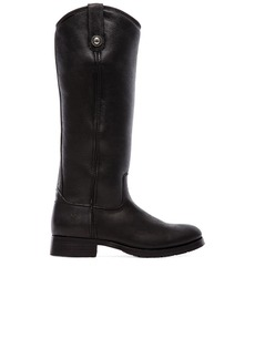 Frye Melissa Button Boot with Sheep Shearling