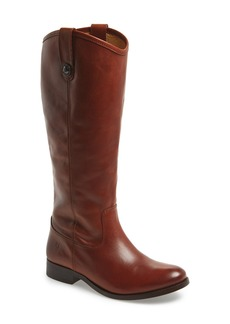 Frye 'Melissa Button' Leather Riding Boot