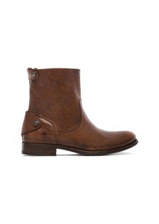 Frye Melissa Button Zip Short Boot