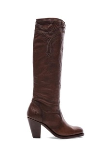 Frye Mustang Stitch Tall Boot