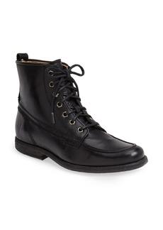 Frye 'Philip' Leather Moc Toe Work Boot (Women)