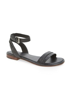 Frye 'Phillip Seam' Leather Ankle Strap Sandal (Women)