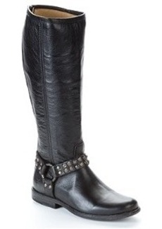 Frye Phillip Studded Tall Leather Boots