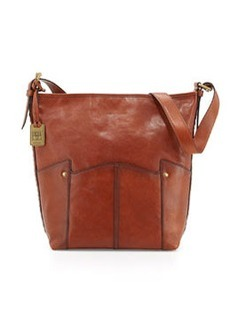 Frye Renee Leather Bucket Bag, Whiskey