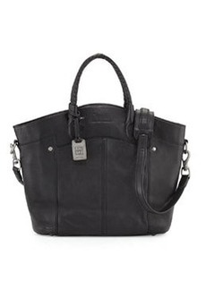 Frye Renee Leather Tote Bag, Black