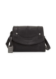 Frye Renee Small Leather Crossbody Bag, Black