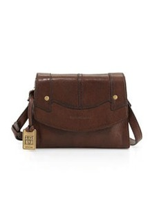 Frye Renee Small Leather Crossbody Bag, Dark Brown