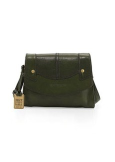 Frye Renee Small Leather Crossbody Bag, Green