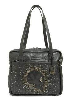Frye 'Skull Stud' Leather Shoulder Bag (Online Only)