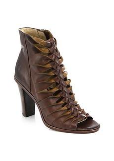 Frye Sofia Braided Leather Sandals