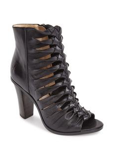 Frye 'Sofia' Braided Peep Toe Boot (Women)