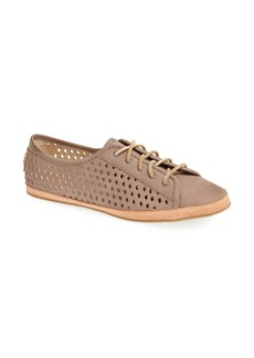 Frye 'Teagan Low' Perforated Leather Lace-Up