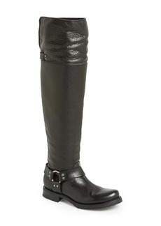 Frye 'Veronica' Leather Over The Knee Harness Boot (Women)