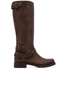 Frye Veronica Moto Back Zip Boot