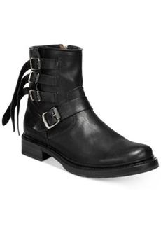 Frye Veronica Strap Short Booties Women's Shoes