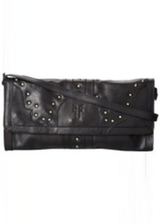 Frye Vintage Stud DB036 Clutch,Black,One Size