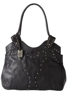 Frye Vintage Stud DB043 Shoulder Bag,Black,One Size