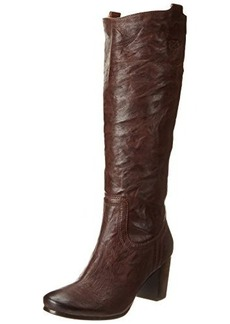 FRYE Women's Carson Mid Heel Tab Knee-High Boot