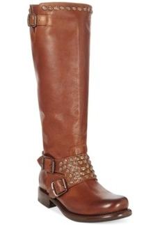 Frye Women's Jenna Studded Tall Boots Women's Shoes