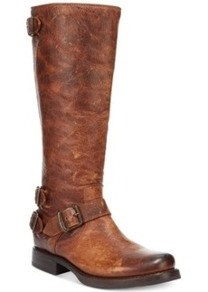 Frye Women's Veronica Back Zip Tall Boots Women's Shoes