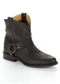 Frye Wyatt Harness Short Leather Boots