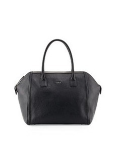 Furla Alice Leather Satchel, Onyx