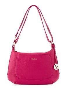 Furla Alida Leather Hobo Bag, Berry