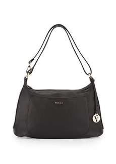 Furla Alida Medium Leather Hobo Bag