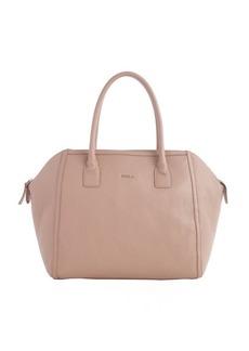 Furla amande leather 'Alice M' satchel