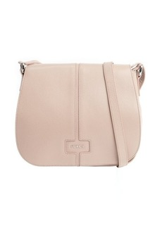 Furla amande leather 'Manola' medium messenger bag
