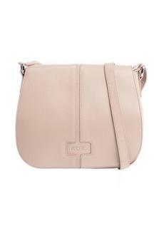 Furla amande leather 'Manola' medium messenger bag