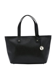Furla black leather medium 'Daisy' tote