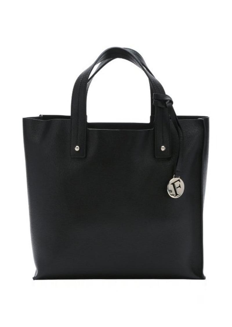 furla furla black leather medium 39 musa 39 tote handbags shop it to me. Black Bedroom Furniture Sets. Home Design Ideas