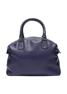 Furla blue pebbled leather 'Raffaella L' satchel