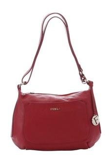 Furla cabernet leather 'Alida' small hobo bag