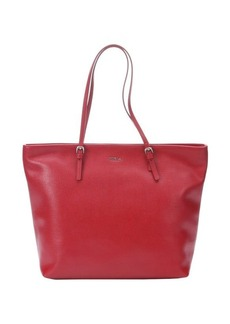 Furla cabernet leather 'D-Light' medium tote